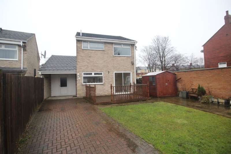 3 Bedrooms Detached House for sale in Pontop Court, Stanley, DH9