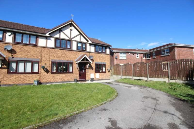 4 Bedrooms Semi Detached House for sale in Albion Fold, Droylsden, Manchester, M43