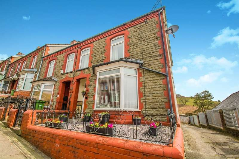 3 Bedrooms End Of Terrace House for sale in Bryngelli Terrace, Abertridwr, Caerphilly
