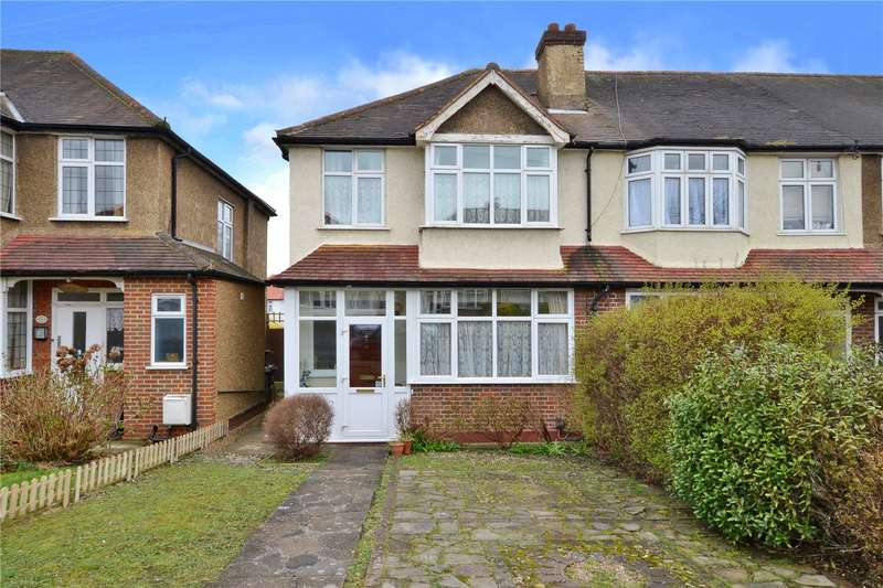 3 Bedrooms End Of Terrace House for sale in Braemar Road, Worcester Park, Surrey, KT4