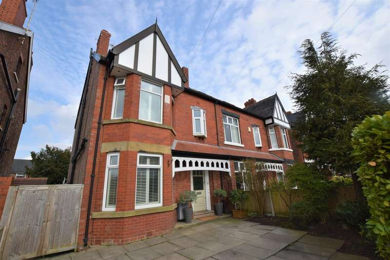 5 Bedrooms Semi Detached House for sale in Queens Road Cheadle Hulme