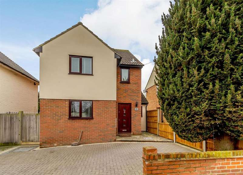 3 Bedrooms Detached House for sale in Windsor Road, Pilgrims Hatch, Brentwood