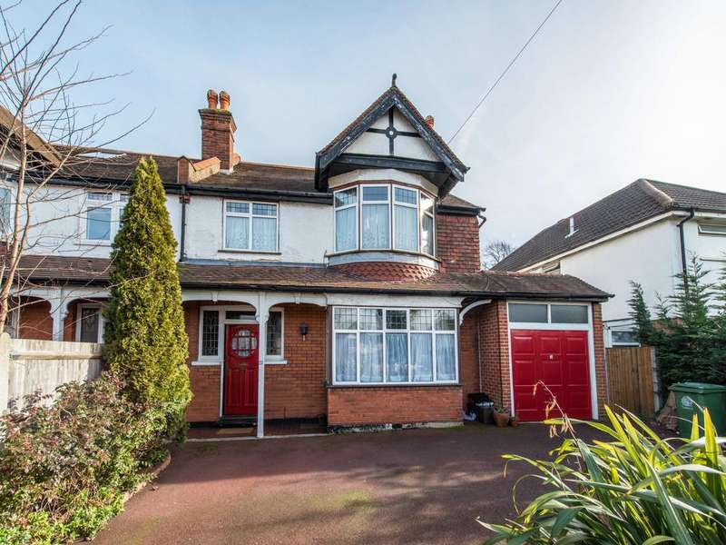 4 Bedrooms Semi Detached House for sale in Sandy Lane South, South Wallington