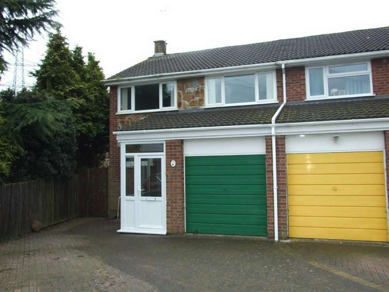 3 Bedrooms Semi Detached House for sale in Melrose Avenue, Bedworth