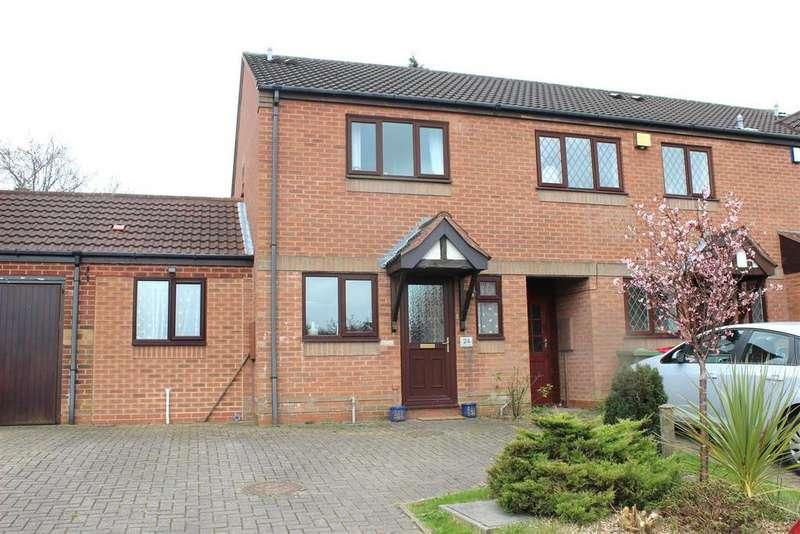 2 Bedrooms Terraced House for sale in Dexter Way, Birchmoor, Tamworth
