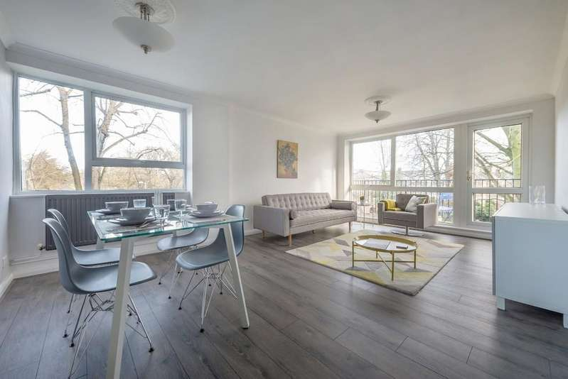 2 Bedrooms Flat for sale in Hermitage Walk, Snaresbrook