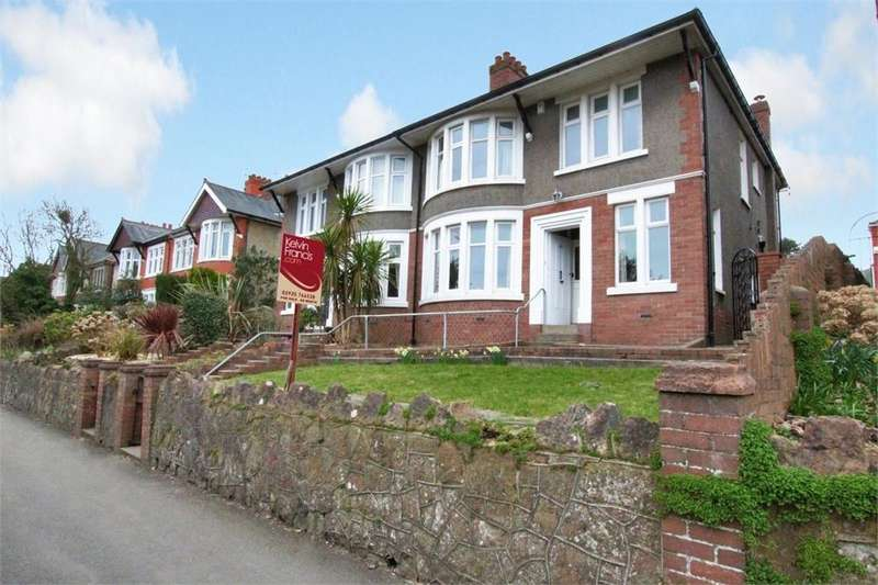 4 Bedrooms Semi Detached House for sale in Lake Road West, Roath Park, Cardiff