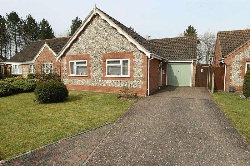 3 Bedrooms Detached Bungalow for sale in Ark Close, Kessingland