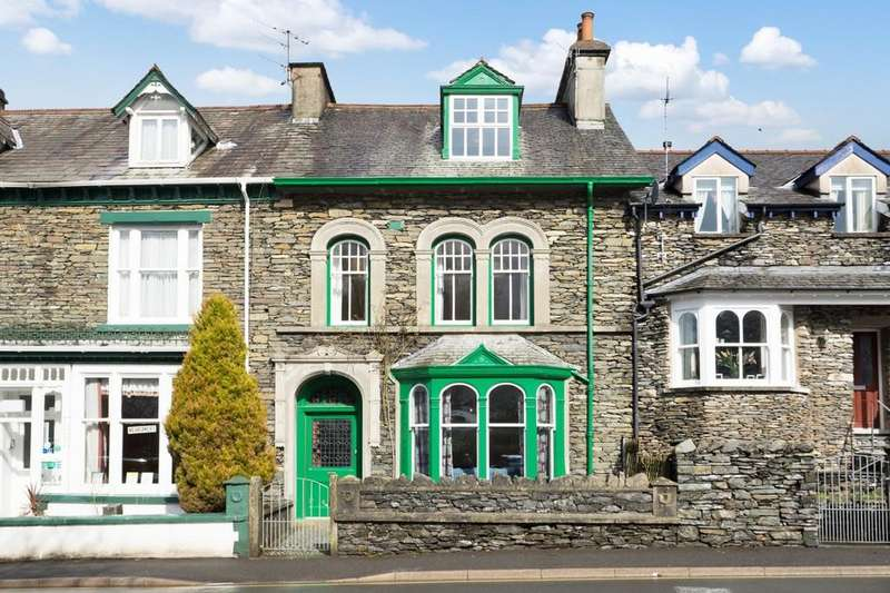5 Bedrooms End Of Terrace House for sale in 39 Broad Street, Windermere, Cumbria LA23 2AB