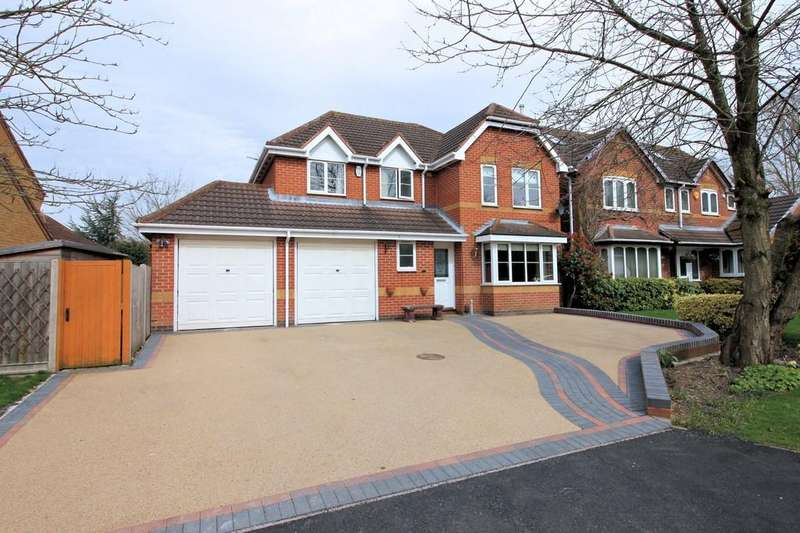 4 Bedrooms Detached House for sale in Ennerdale Gardens, Ashby-de-la-Zouch