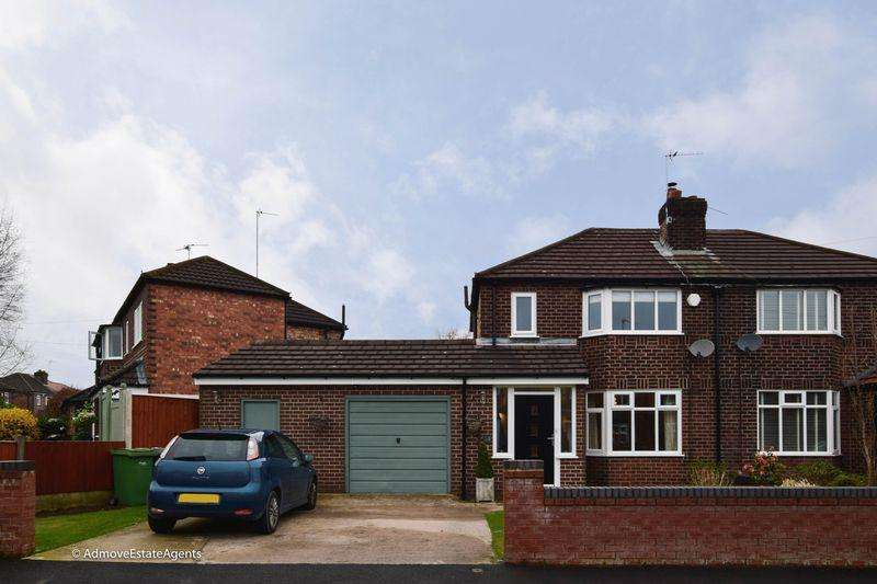 3 Bedrooms Semi Detached House for sale in Cawthorne Avenue, Warrington