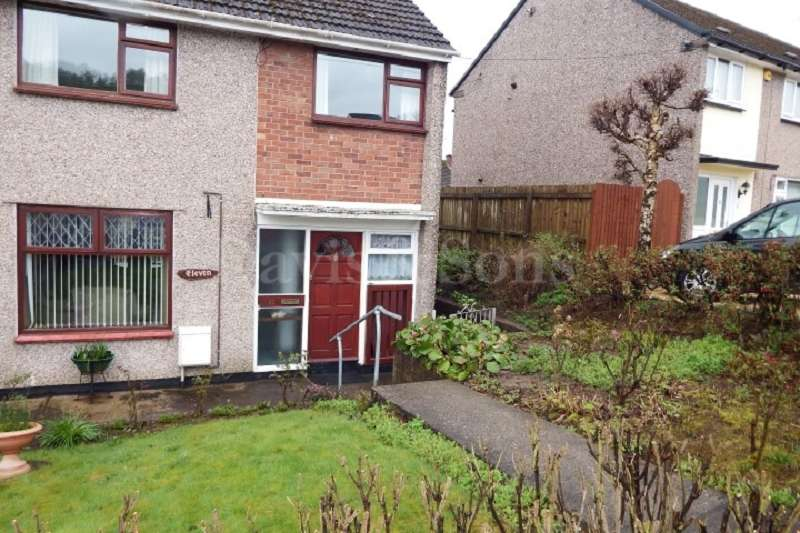 3 Bedrooms Semi Detached House for sale in Clist Road, Bettws, Newport. NP20 7TA