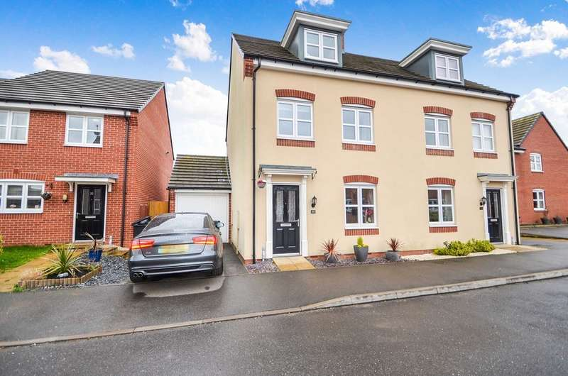 3 Bedrooms Semi Detached House for sale in 30 Teeswater Close