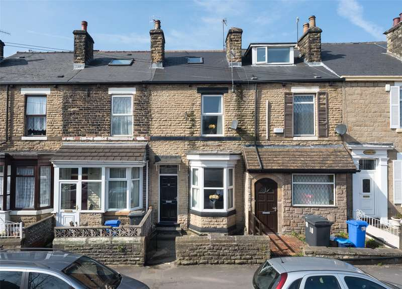 4 Bedrooms Terraced House for sale in Stafford Road, Sheffield, South Yorkshire, S2