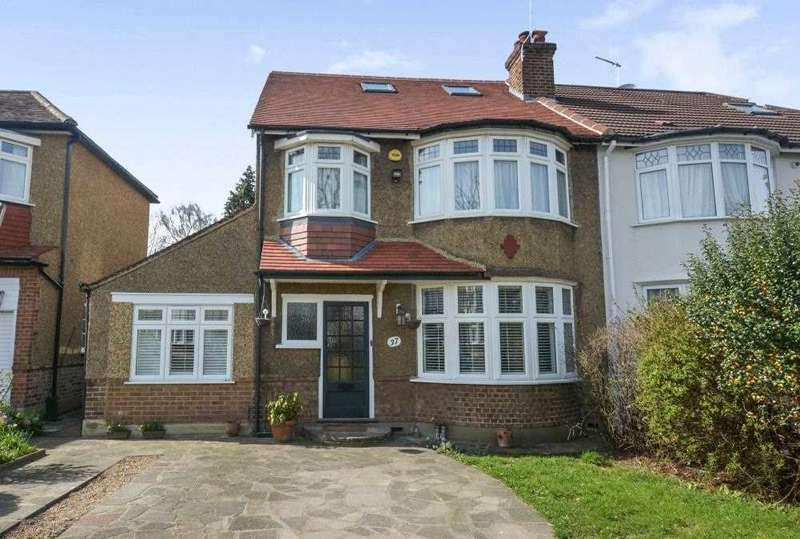 4 Bedrooms Semi Detached House for sale in Green Moor Link, Winchmore Hill
