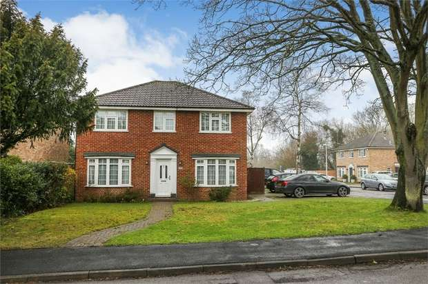 4 Bedrooms Detached House for sale in Old Farm Drive, Bracknell, Berkshire