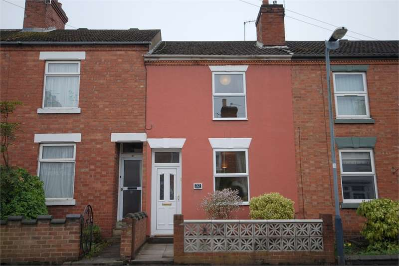 2 Bedrooms Terraced House for sale in Charlotte Street, RUGBY, Warwickshire