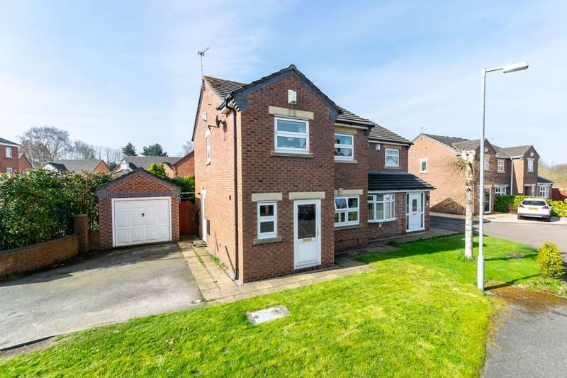 3 Bedrooms Semi Detached House for sale in Sherwood Grove, Helsby, Frodsham, WA6