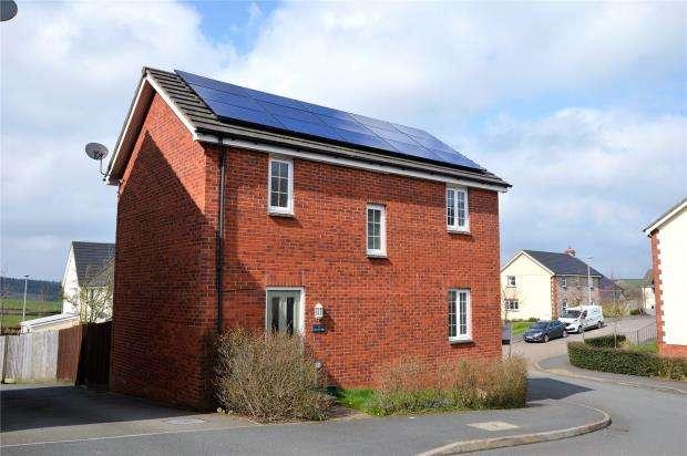 3 Bedrooms Detached House for sale in Sterlings Way, Okehampton