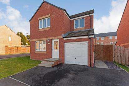 4 Bedrooms Detached House for sale in Valleyfield Crescent, Ferniegair, Hamilton, South Lanarkshire