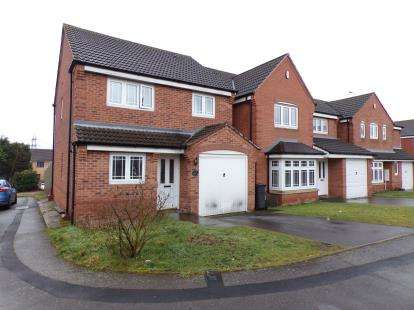 3 Bedrooms Detached House for sale in Aster Way, Walsall, West Midlands