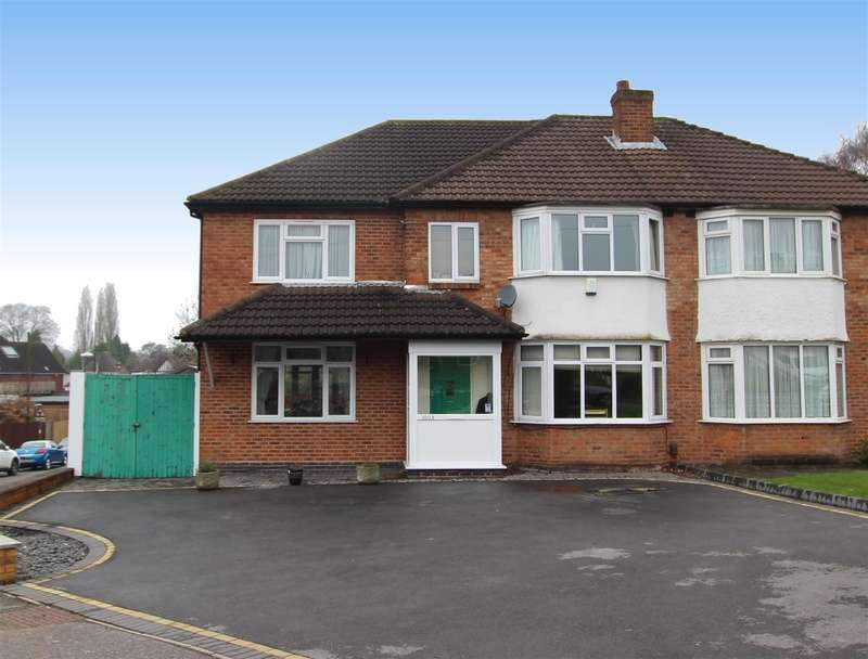 5 Bedrooms Semi Detached House for sale in Plants Brook Road, Sutton Coldfield, B76 1HG
