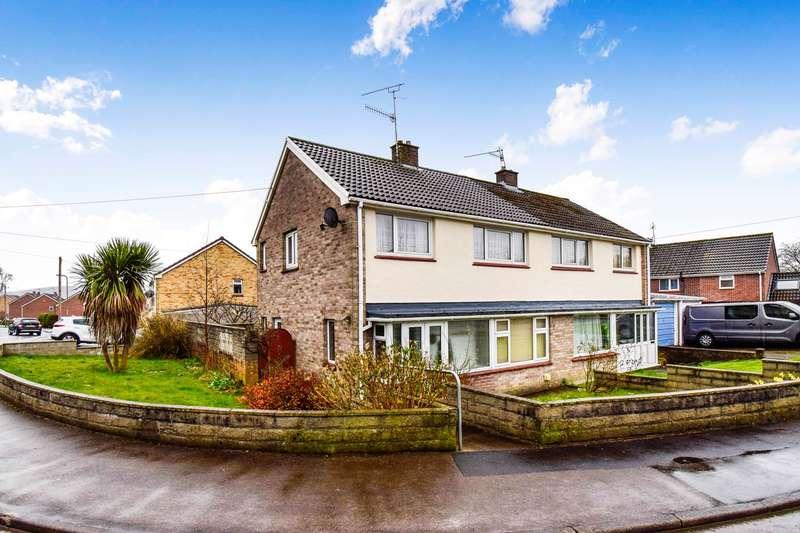 3 Bedrooms Semi Detached House for sale in Summerfield Lane, Machen, Caerphilly, CF83