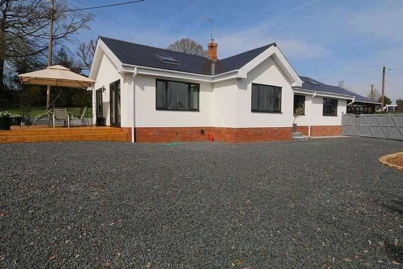 3 Bedrooms Detached Bungalow for sale in Cradley, MALVERN, Worcestershire, WR13 5LR