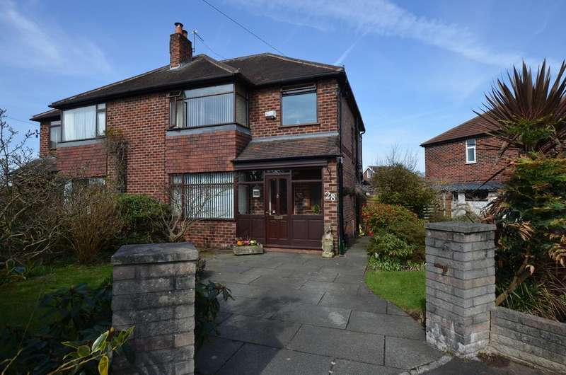 3 Bedrooms Semi Detached House for sale in Mosley Road, Timperley, Altrincham WA15