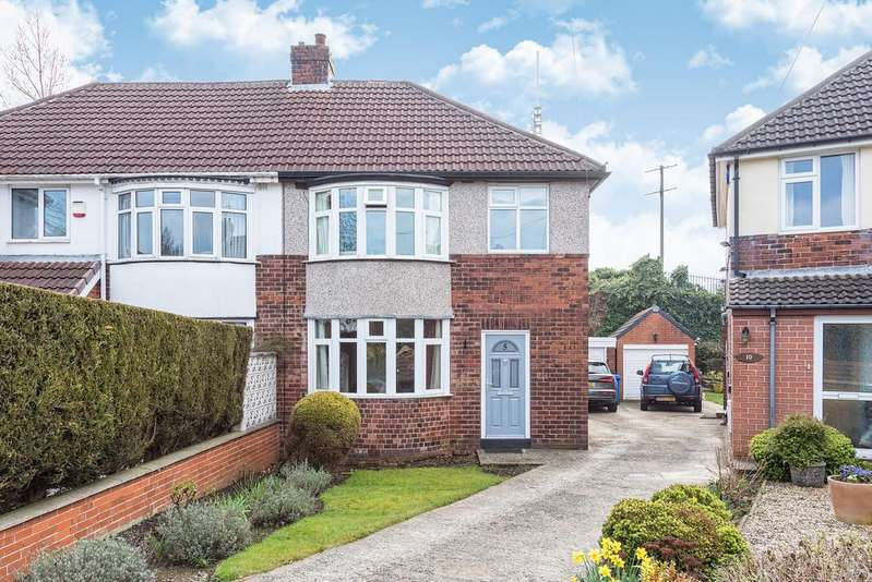 4 Bedrooms Semi Detached House for sale in Campsall Drive, Crosspool, Sheffield