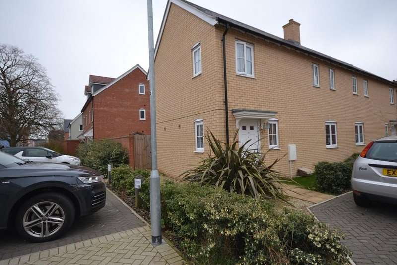 2 Bedrooms Semi Detached House for rent in Trowel Place, Colchester