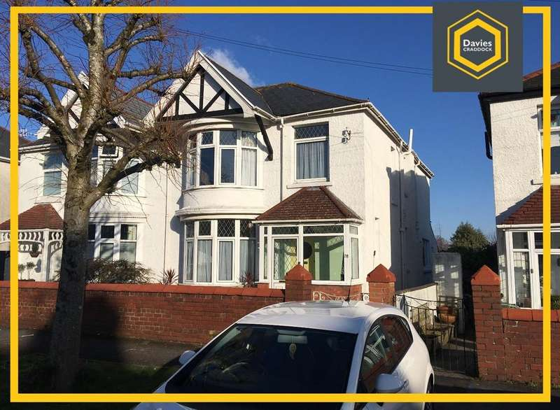 4 Bedrooms Semi Detached House for sale in Tyr Fran Avenue, Llanelli, SA15