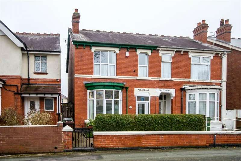 3 Bedrooms Semi Detached House for sale in Jeffcock Road, Pennfields, Wolverhampton, West Midlands