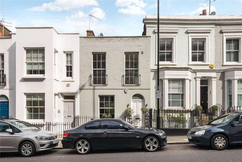 3 Bedrooms Terraced House for sale in Campden Hill Road, Kensington, London