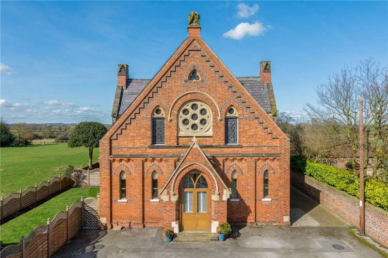 3 Bedrooms Unique Property for sale in The Old Chapel, Marston Road, Tockwith, York