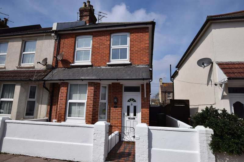 2 Bedrooms End Of Terrace House for sale in Latimer Road, Eastbourne BN22