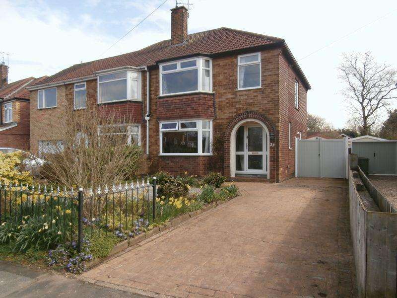 3 Bedrooms Semi Detached House for sale in Riverview Avenue, North Ferriby