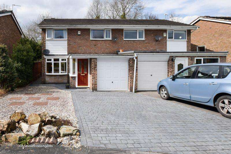 3 Bedrooms Semi Detached House for sale in Armstrong Close, Warrington