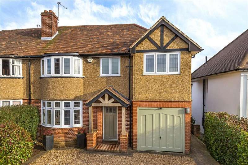 4 Bedrooms Semi Detached House for sale in Bloomfield Road, Harpenden, Hertfordshire