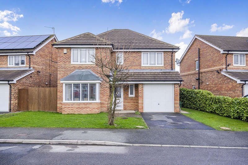 4 Bedrooms Detached House for sale in Thistle Hill Drive, Streethouse, Pontefract, WF7