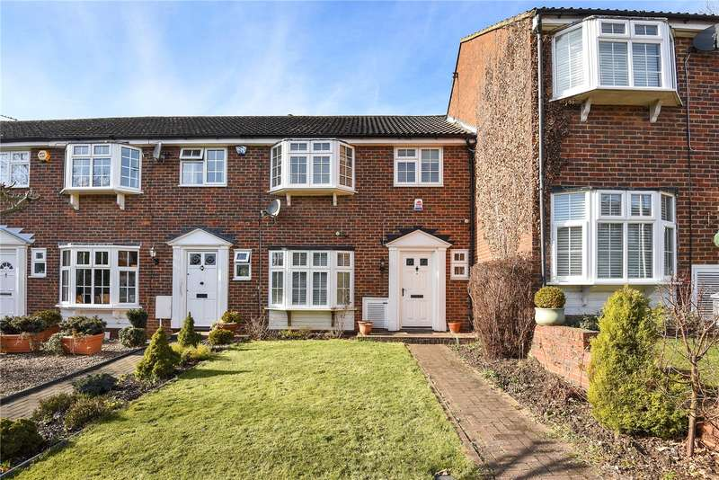 3 Bedrooms Terraced House for sale in Cygnet Close, Northwood, Middlesex, HA6