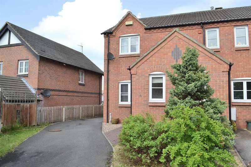 2 Bedrooms Detached House for sale in Outram Drive, Swadlincote