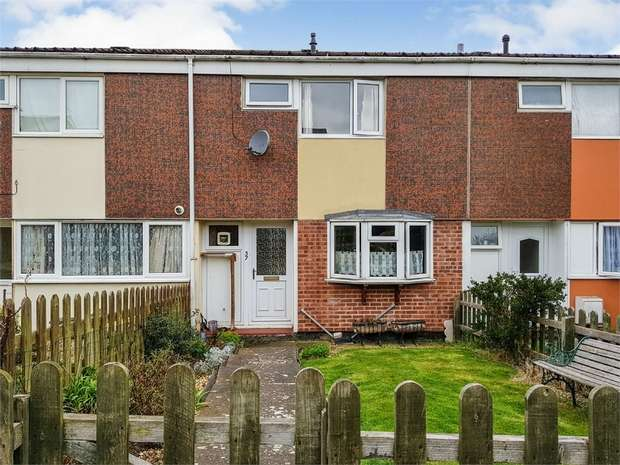 3 Bedrooms Terraced House for sale in Hawke Road, Daventry, Northamptonshire