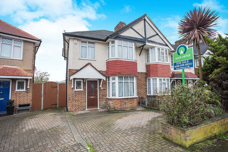 3 Bedrooms Semi Detached House for sale in Rosebery Road, Hounslow, TW3