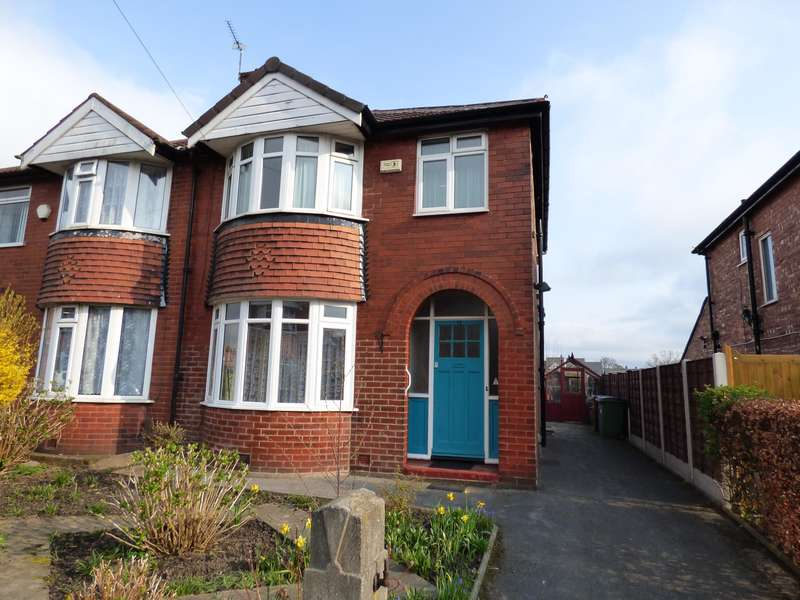 3 Bedrooms Semi Detached House for sale in Brooklyn Road, Dialstone Lane, Stockport, SK2