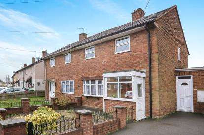 2 Bedrooms Semi Detached House for sale in Durberville Road, Wolverhampton, West Midlands