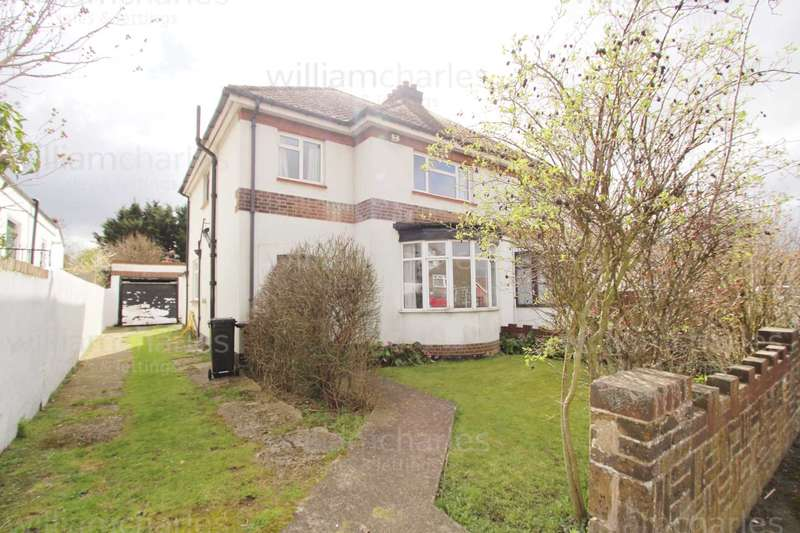 3 Bedrooms Semi Detached House for sale in Orchard Avenue, Gravesend