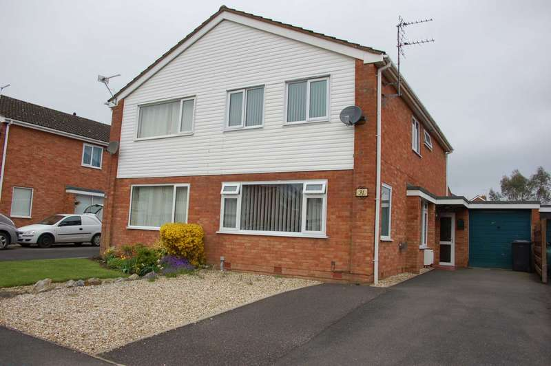 3 Bedrooms Semi Detached House for sale in Scafell Close, Taunton