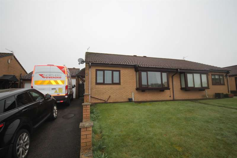 2 Bedrooms Semi Detached Bungalow for sale in Maple Court, Toft Hill, Bishop Auckland