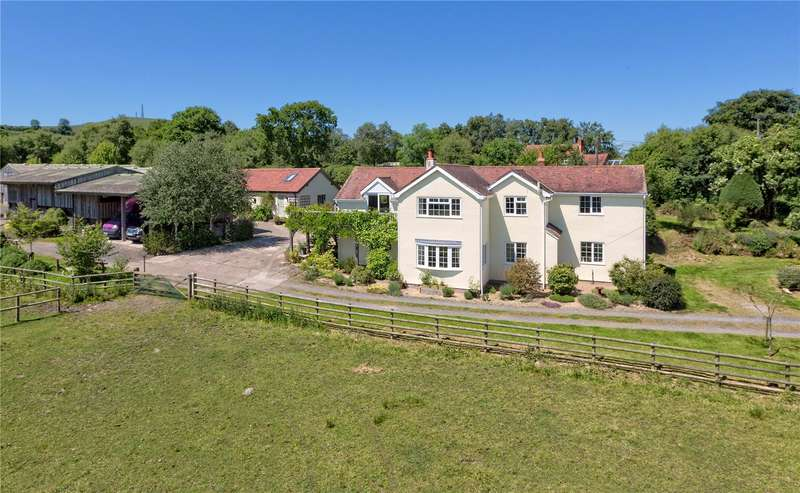 4 Bedrooms Detached House for sale in The Birches, Cleeton St. Mary, Nr Ludlow, Shropshire, DY14